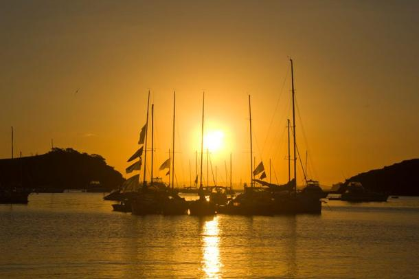 Sunset, Waiheke $50